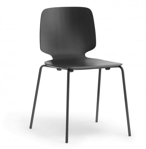 Houten stoel Babila 2710 - MV Kantoor