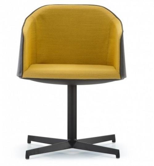 Gestoffeerde vergaderstoel Laja 887 - lounge fauteuils - MV Kantoor