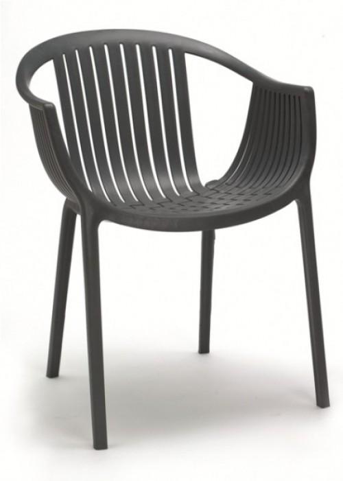 Kuipstoel Tatami 306 - stapelbare kantine stoel