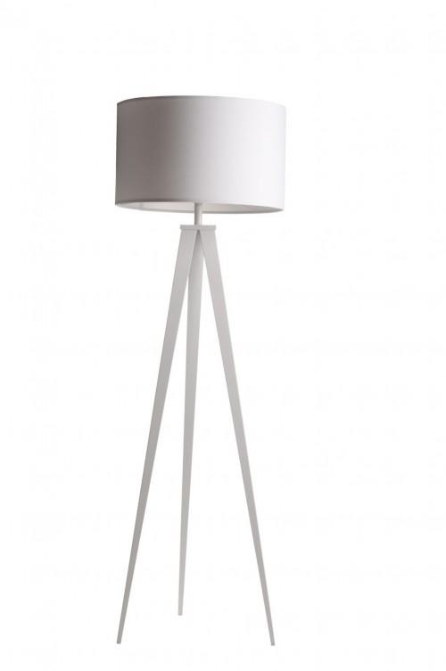Vloerlamp met witte kap - moderne lampen