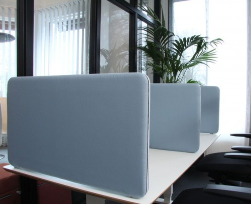 ScreenIt Above desk - akoestische scheidingswand - mv kantoor