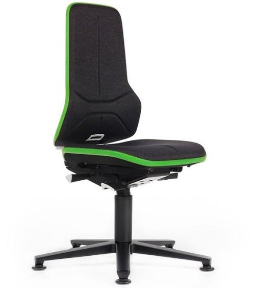 Werkplaats stoel ESD Neon 1+2 - bureaustoel zonder armleuning - mv kantoor