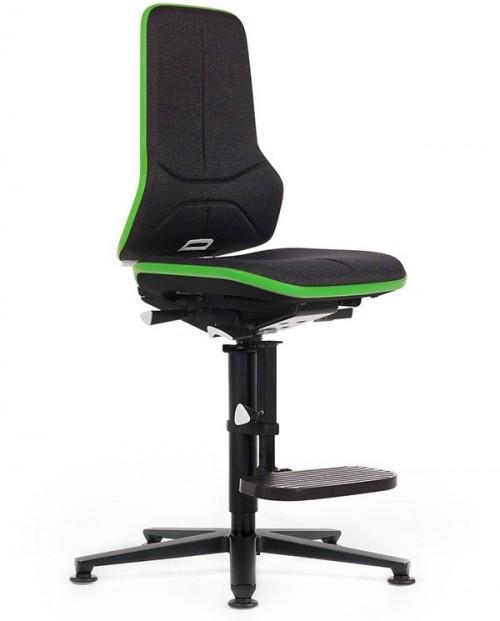 ESD NEON DUOTEC industriestoel - bureaustoel zonder armleuning - mv kantoor