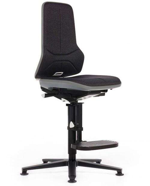 Hoge laboratorium stoel Neon 3 stof duotec - hoge bureaustoel - mv kantoor
