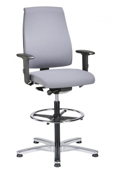 Loketstoel - kassastoel Goal 195G - ergonomische bureaustoel