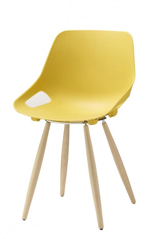 Kunststof stoel S810 kantinestoel - opnieuw kantine inrichten