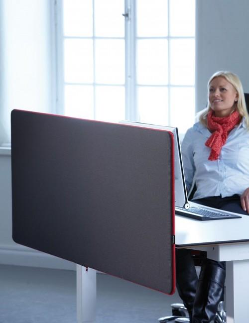 ScreenIt Standaard bureau scheidingswand - scheidingswanden kantoor