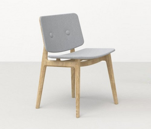 Houten stoel Freya 4711 - Magnus Olesen stoel - MV Kantoor