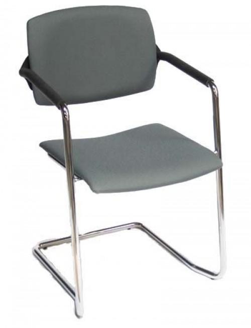 Stapelbare stoel Stan A108 grijs - vergadermeubilair - MV Kantoor
