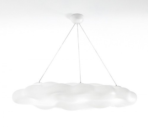 Wolken hanglamp Néfos - opvallende lampen