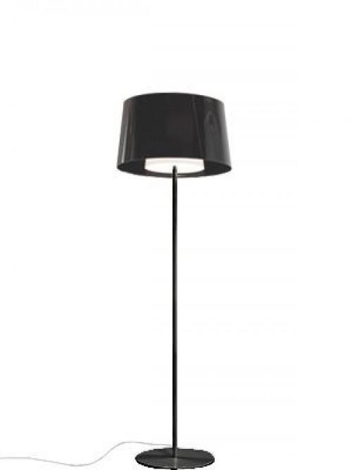 Staande vloerlamp L001ST/BA - lamp met ronde kap