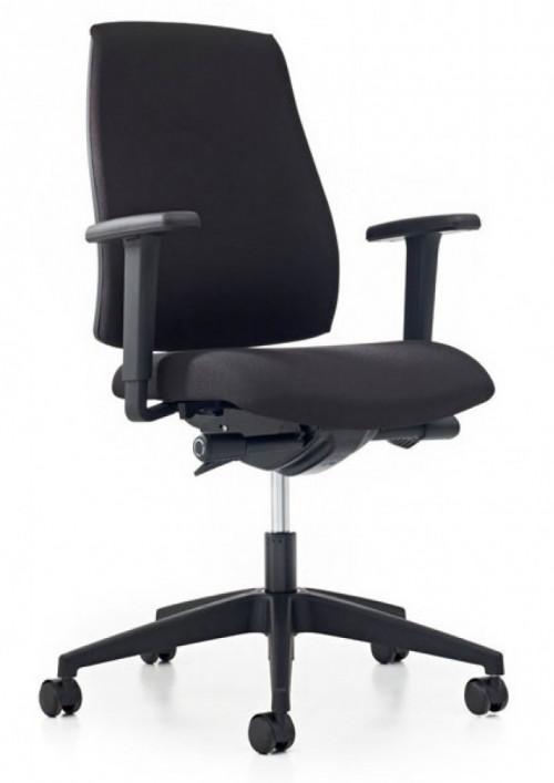 Thuiswerk bureaustoel Se7en Basic 16G2 zwart