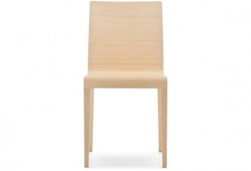 Houten stoel Young 420 - houten kantinestoelen kopen - MV Kantoor