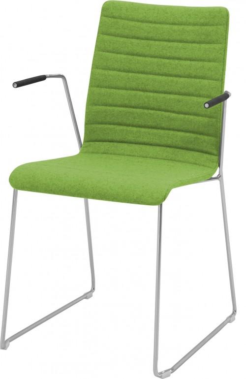 Gestoffeerde oscar stoel met padding