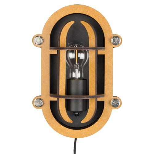 Industriële wandlamp - MV Kantoor