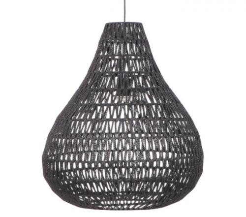 Hanglamp druppel zwart - MV Kantoor