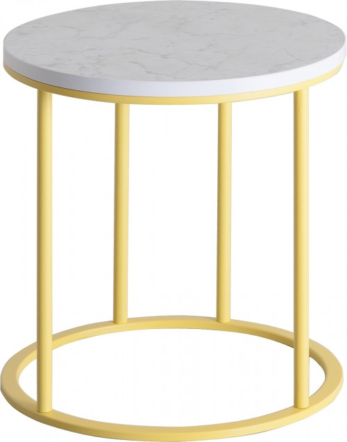 Frame loungetafel rond - mv kantoor