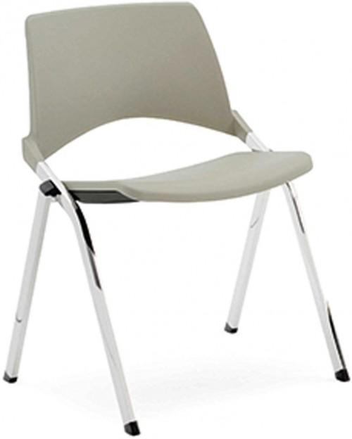 Stoel S140 - stapelbare kunststof stoelen - MV Kantoor