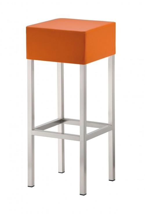 Kruk Cube H14 - hoge barkrukken - mv kantoor