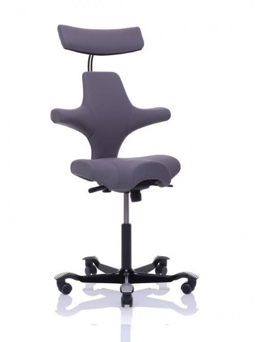 Zadelstoel achter receptie Hag Capisco 8107 - goede bureaustoel