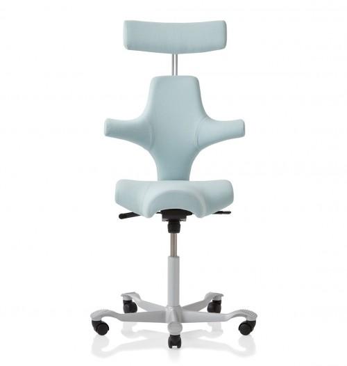 Capisco bureaustoel met hoofdsteun