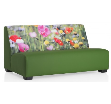 Loungebank Flowers