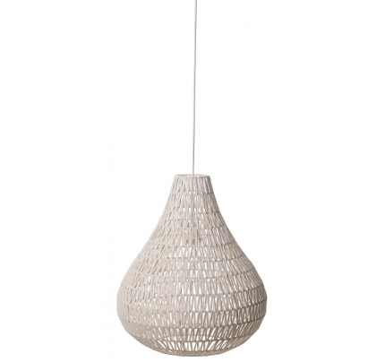 Hanglamp druppel wit