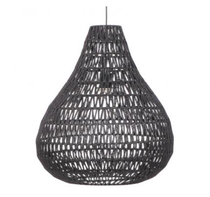 Hanglamp druppel zwart