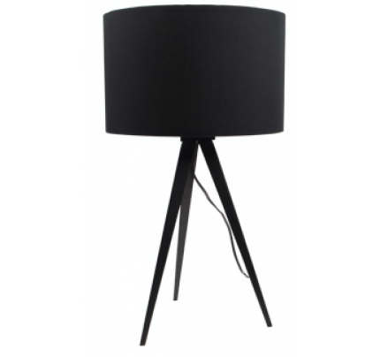 Tafellamp met zwarte kap
