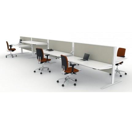 Duo zit-sta bureau MAX T-range