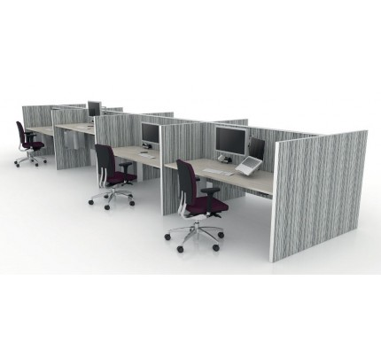 Duo zit-sta bureau MAX Screen Range