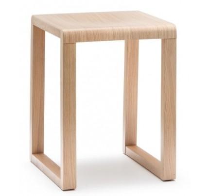Lage houten kruk Brera 383