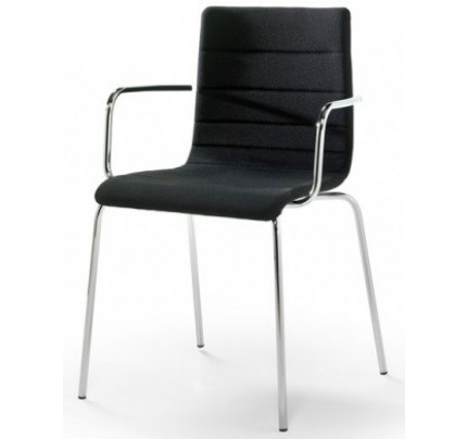Gestoffeerde stoel Traccia 743