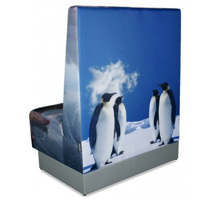 Treinbank Pinguïn