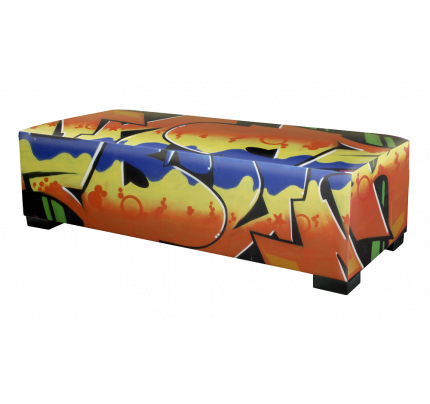 Hocker Graffiti 120 cm