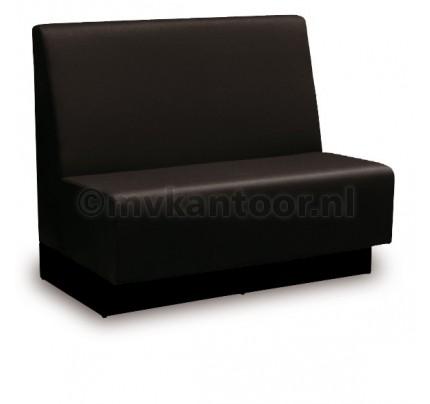 Treinbank zwart glans Cav52