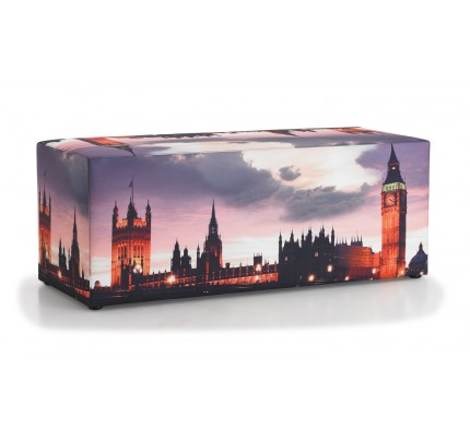 Hocker met foto London