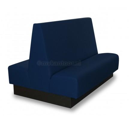 Treinbank dubbel d.blauw Cav4