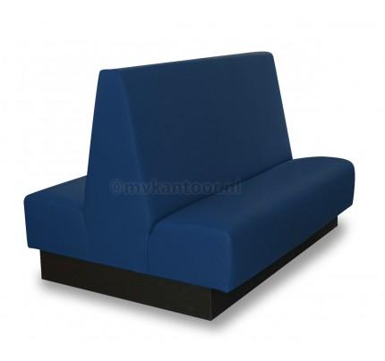 Treinbank dubbel blauw Cav3