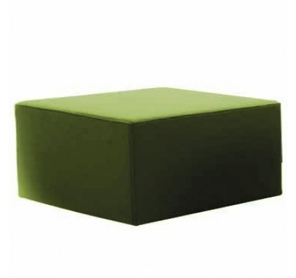 Vierkante poef Moda HS1630