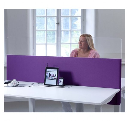 ScreenIt Plexiglas Preventie Bureauscherm