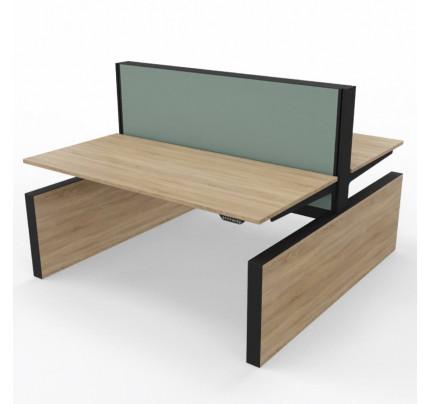 Duo zit-sta bureau MAX Panel-Range