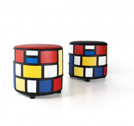 Limited Edition: Hocker De Stijl