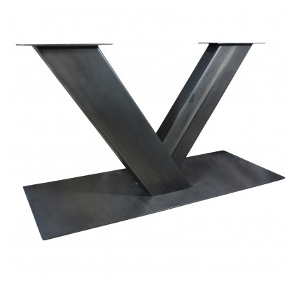 Industriële tafelonderstel V-poot zwaar