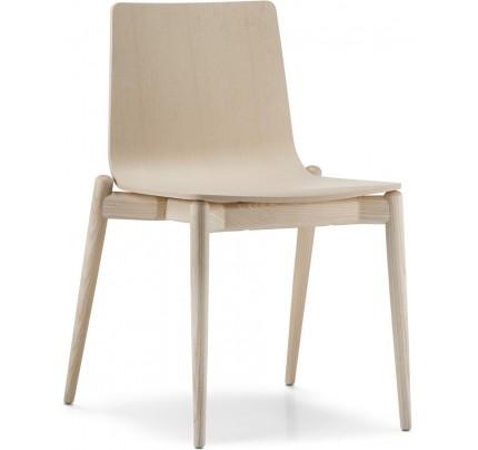 Houten stoel Malmö 390