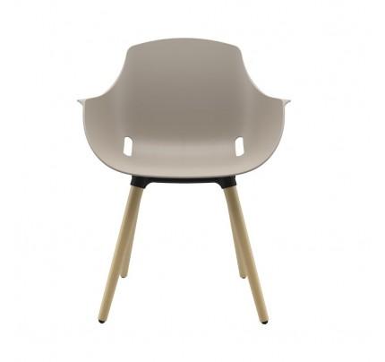 Ago houten 4-poot stoel