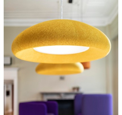 Akoestische hanglamp BuzziDome