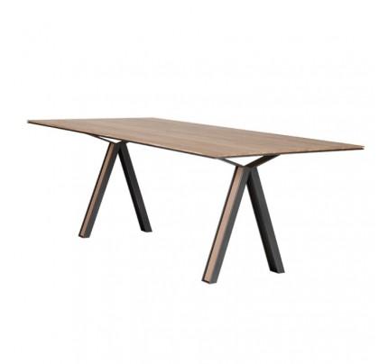 Industriële houten tafel Blakeley