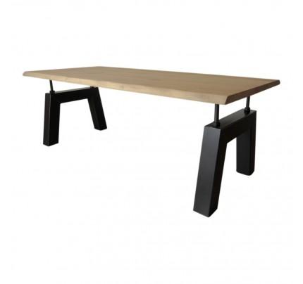Industriële verstelbare tafel Bridge