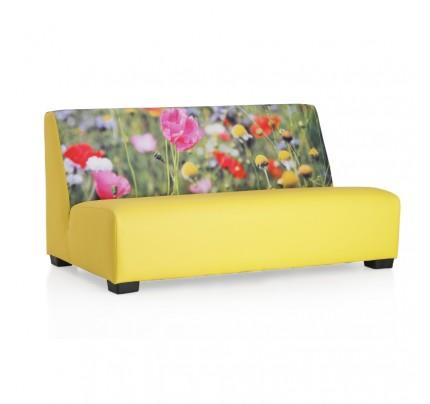 Loungebank Veldbloemen